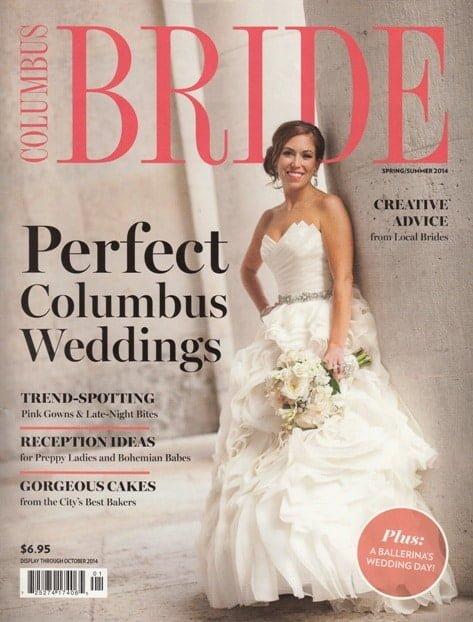 Columbus Bride Spring Summer 2014 Cover