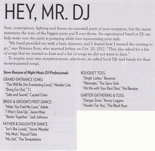 Hey Mr DJ Night Music