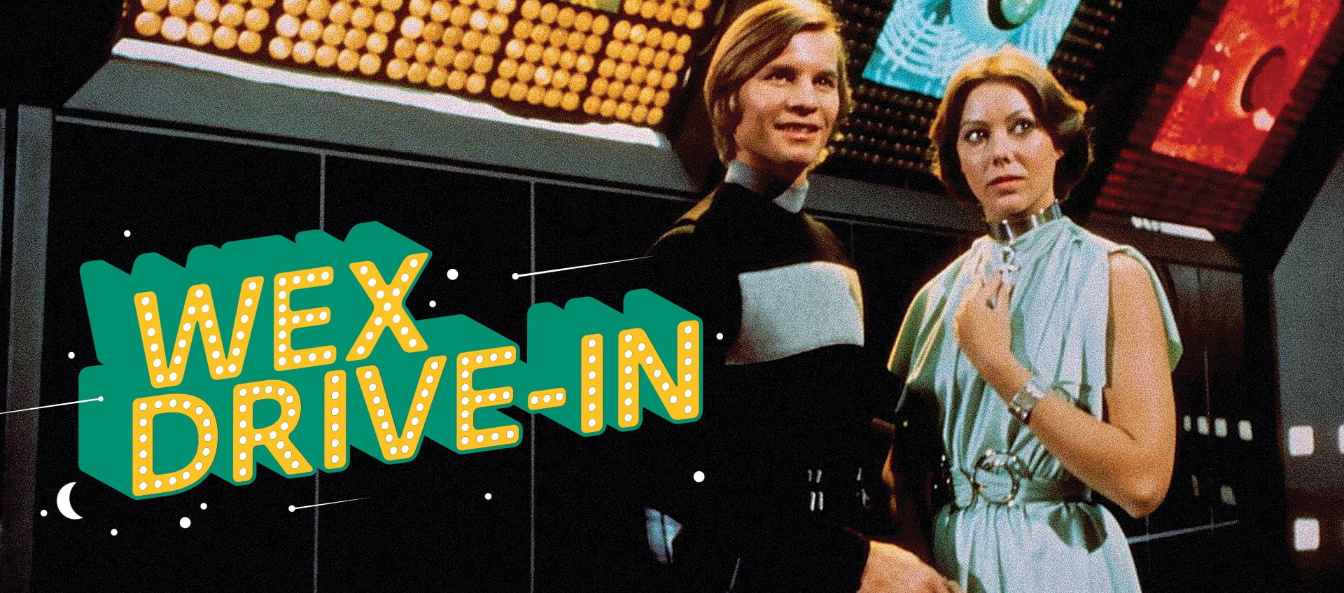 Columbus DJs Night Music will be at the WEX Drive In Movie. Logans Run.