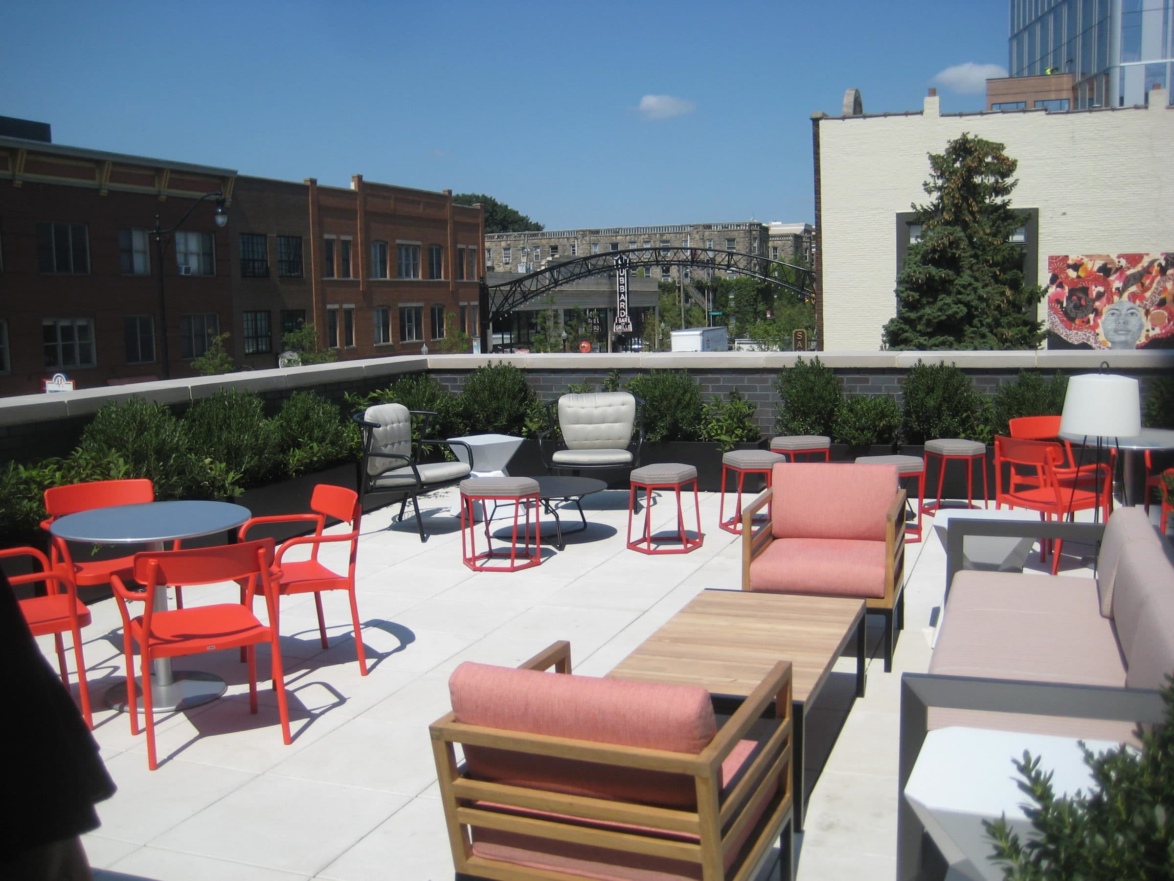 The Graduate Hotel Columbus Rooftop
