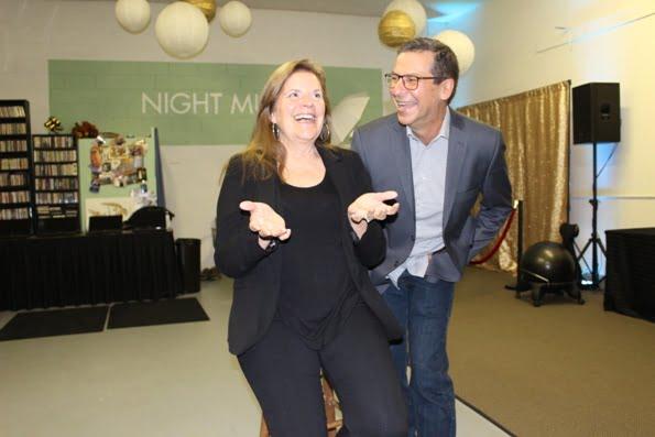 Night Music DJs Jodi and Steve